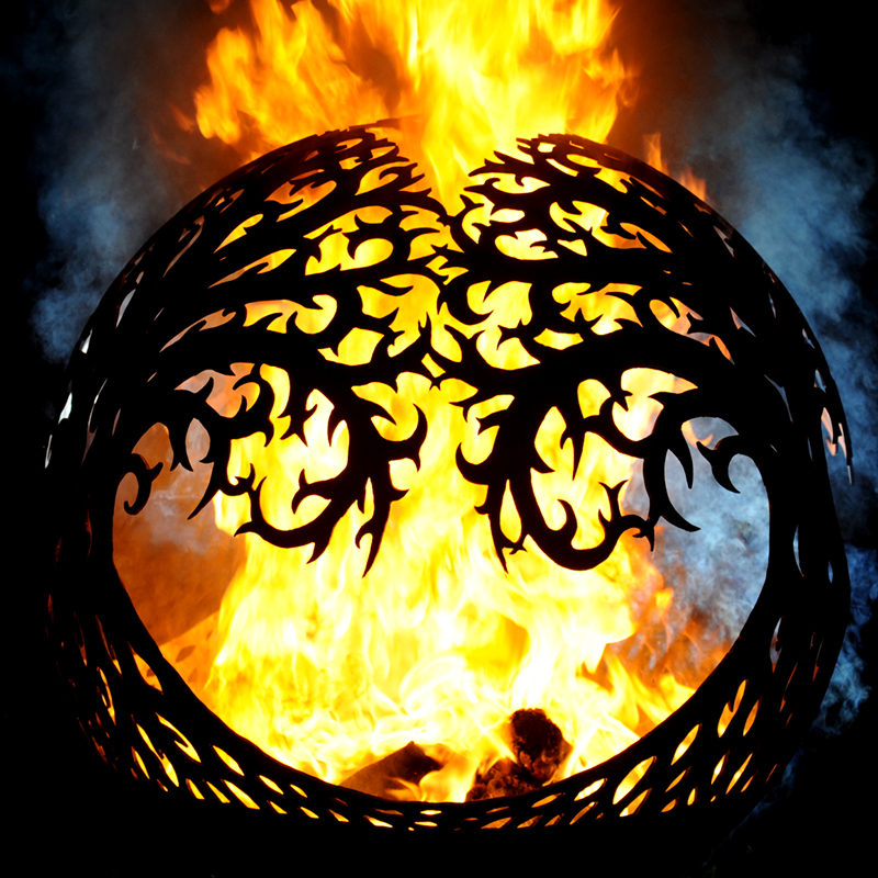 Tree of Life Fireball Fire Pit by Andy Gage