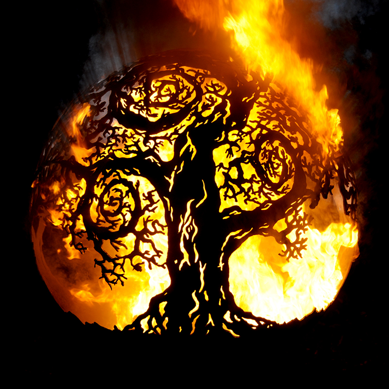 Twisted Tree Fireball Fire Pit by Andy Gage