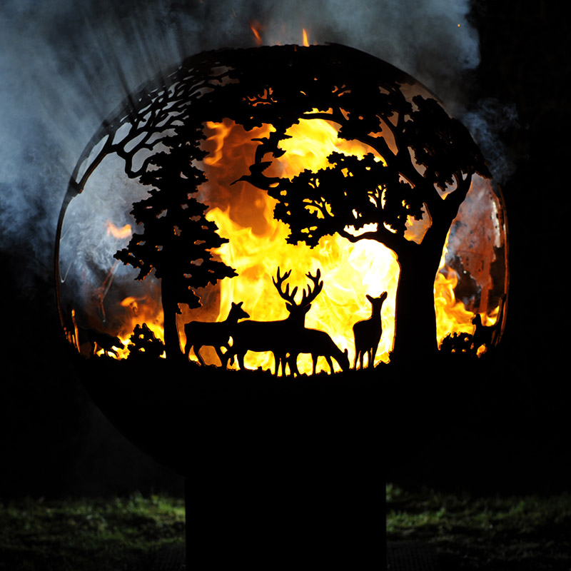 Country Pursuits Fireball Fire Pit by Andy Gage