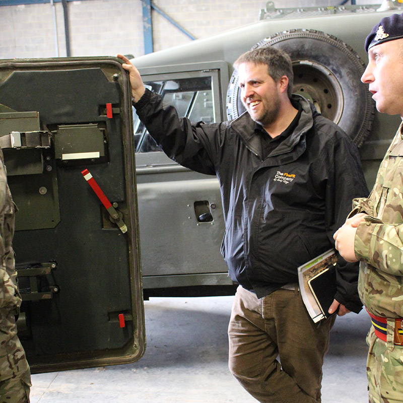 Royal Artillery Fireball visit by Andy Gage