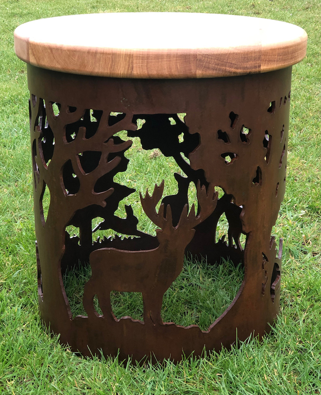 English Country Stool by Andy Gage