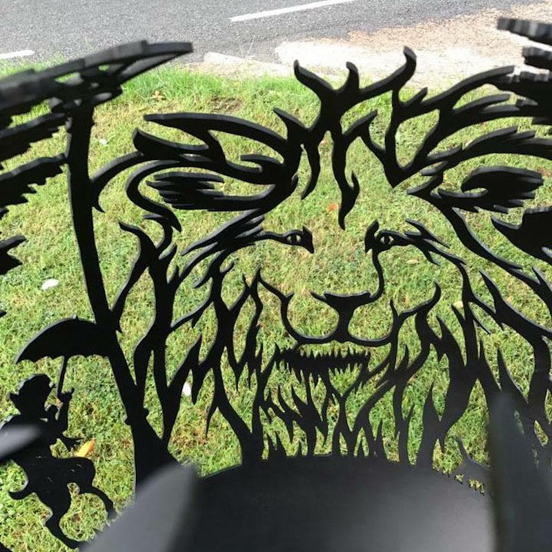 Aslan The Lion Firepit by The Firepit Company